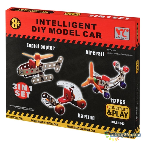 Конструктор Same Toy Inteligent DIY Model Car 117 элементов (58042Ut)
