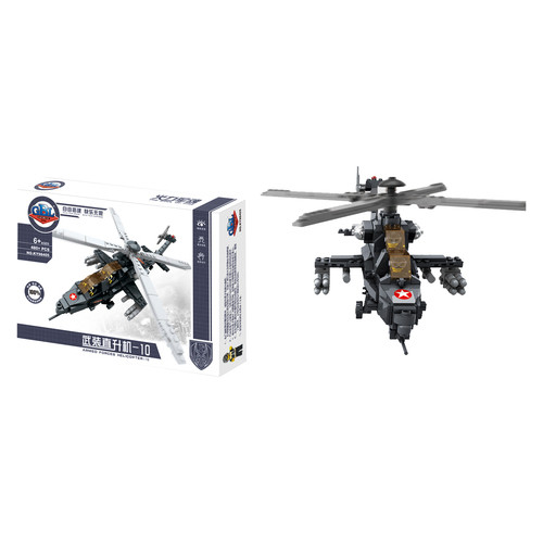 Конструктор Gao Bo Le Военный вертолет (98405)