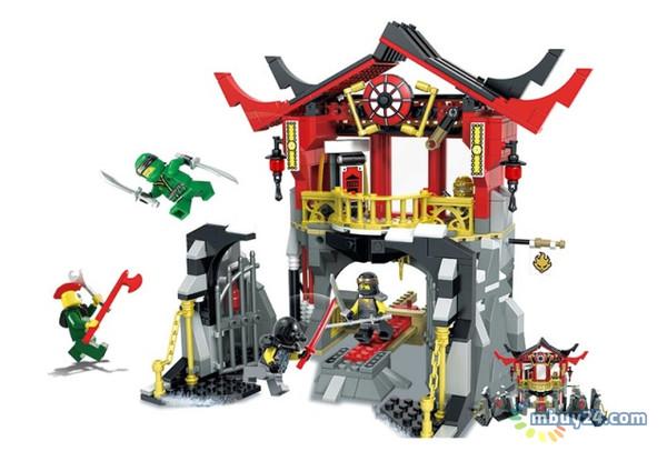 Конструктор JVToy Ninja Heroes Битва в храме воскресения (16009)