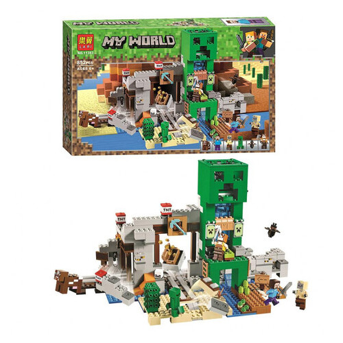 Конструктор Bela Minecraft Шахта Крипера (11363)