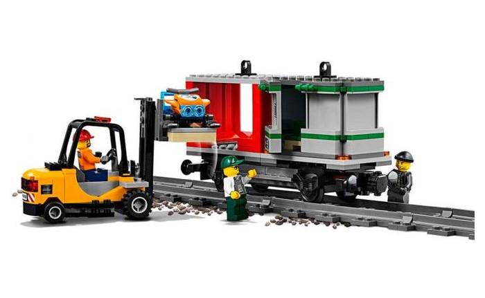 Конструктор Lego City Товарный поезд (60198)
