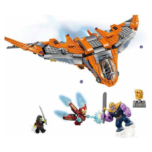 Конструктор Lego Super Heroes Война бесконечности: Танос - последняя битва (76107)