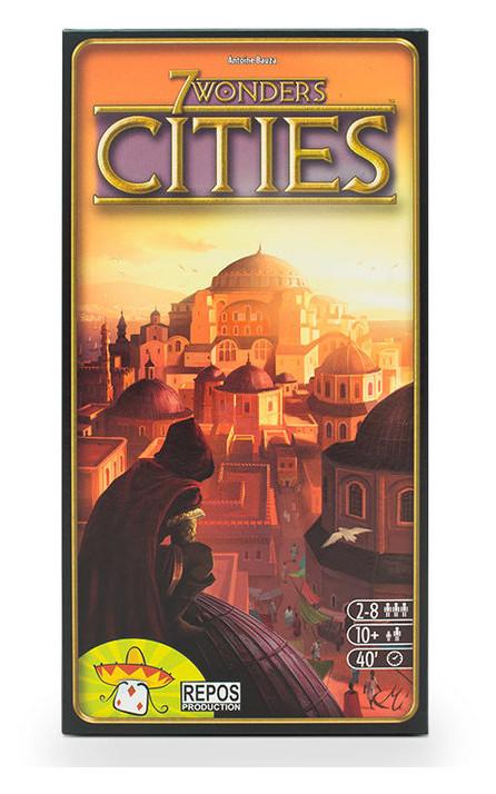 Настольная игра Asmodee 7 Чудес: Города (92087)