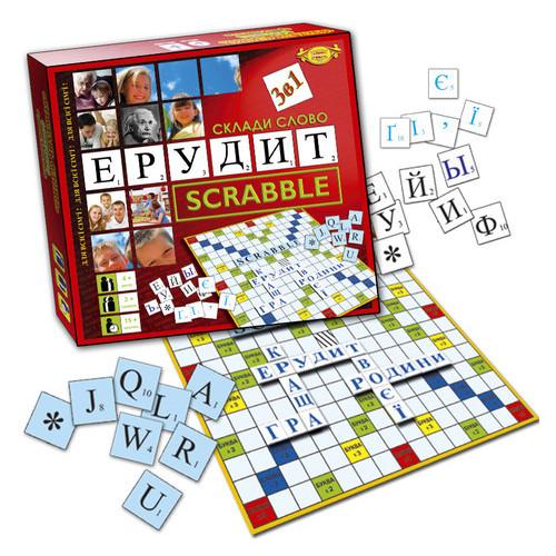 Игра Мастер Составь слово Эрудит Scrabble (MKB0132)