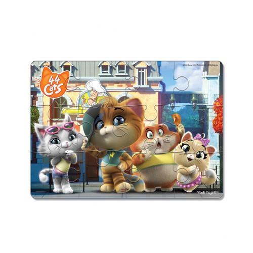 Игра настольная Vladi Toys Макси пазлы 44 Cats (VT1722-14)