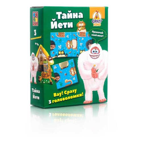 Настольная игра-головоломка Vladi Toys Crazy Koko Тайна Йети (VT8055-02)