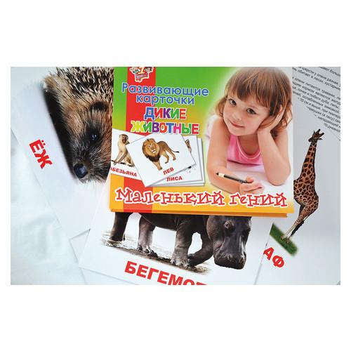 Набор карточек 1 Вересня Дикие животные 15 шт (951284)