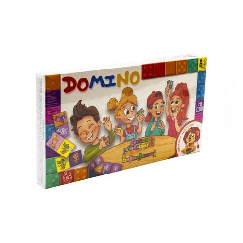 Настольная игра Danko Toys Домино: Забавные животные рус. (DTG-DMN-03)