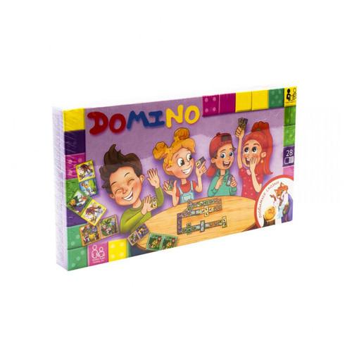 Настольная игра Danko Toys Домино: Любимые сказки рус. (DTG-DMN-01)