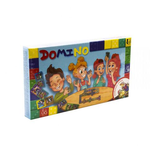 Настольная игра Danko Toys Домино: Любимые сказки рус. (DTG-DMN-02)