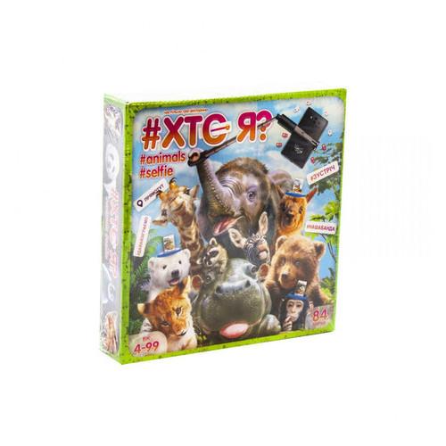 Настольная игра Danko Toys викторина КТО Я? Animals Selfie укр (HIM-04-01U)