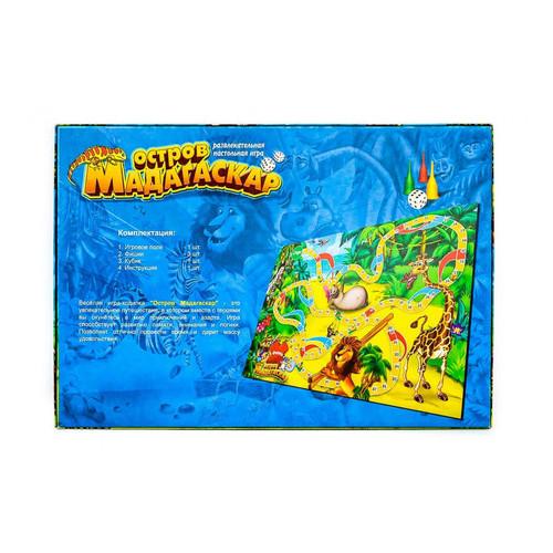 Игра настольная Danko Toys Мадагаскар (DTG31-U)