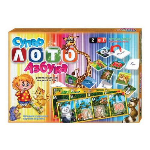 Супер лото Danko Toys Азбука (2622DT)