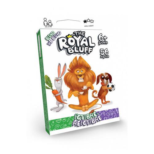 Карточная игра Danko Toys The ROYAL BLUFF съедобное несъедобное укр (RBL-02-01U)