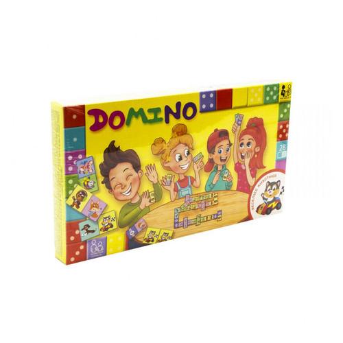 Настольная игра Danko Toys Домино: Забавные животные рус (DTG-DMN-04)