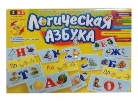 Настольная игра Danko Toys Логическая азбука (DT66Asp)