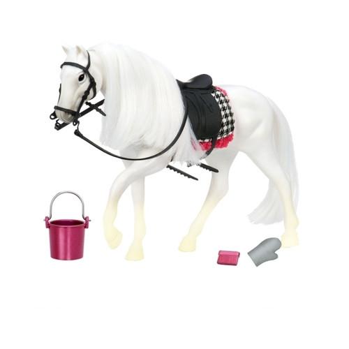 Игровая фигура Lori Белая лошадь с Камарилло (LO38000Z)