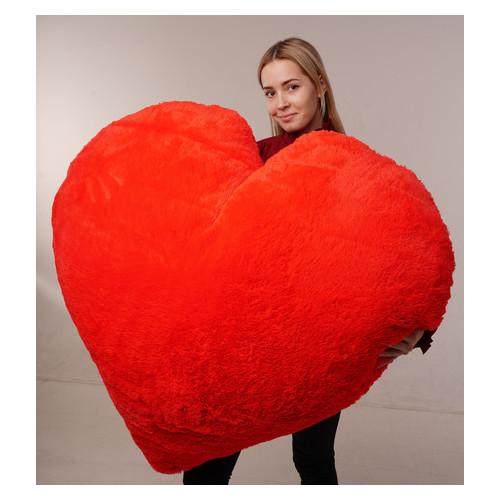 Мягкая игрушка Yarokuz подушка Сердце 150 см Красная