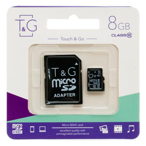 Карта памяти T&G MicroSDHC 8gb 10 class