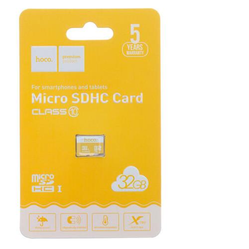 Карта памяти Hoco MicroSDHC 2.0 32gb