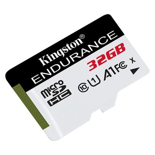 Карта памяти Kingston MicroSDHC 32GB UHS-I Class 10 High Endurance (SDCE/32GB)