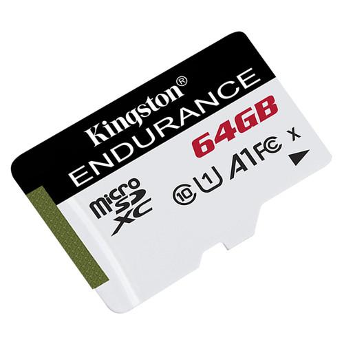Карта памяти Kingston MicroSDXC 64GB UHS-I Class 10 High Endurance (SDCE/64GB)