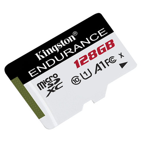 Карта памяти Kingston MicroSDXC 128GB UHS-I Class 10 High Endurance (SDCE/128GB)