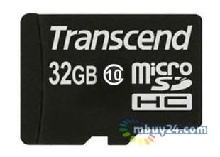 Карта памяти Transcend microSDHC 32 GB Class 10 (no adapter) (TS32GUSDC10)