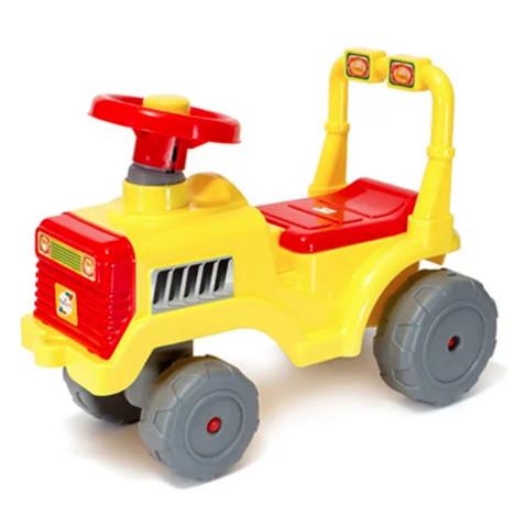 Толокар с ручкой Орион Беби трактор ORN-931 Желтый