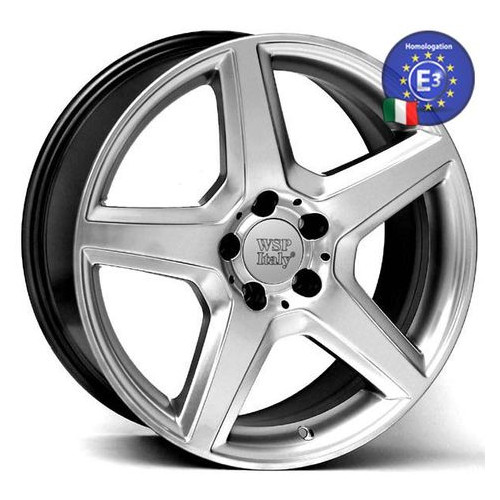 Диски WSP Italy MERCEDES 7,0x15 AMG III Budapest ME31 W731 5x112 30 66,6 HYPER SILVER ()