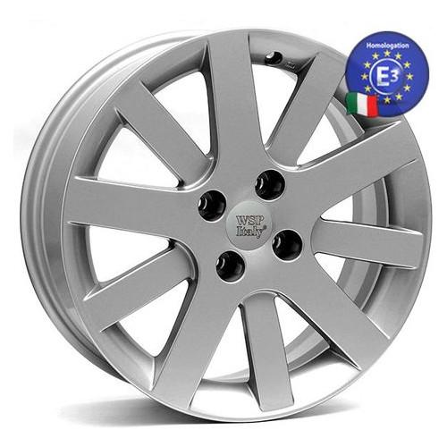 Диски WSP Italy PEUGEOT 7,0x17 LYON PE50 W850 4x108 16 65,1 SILVER (5409.N9)