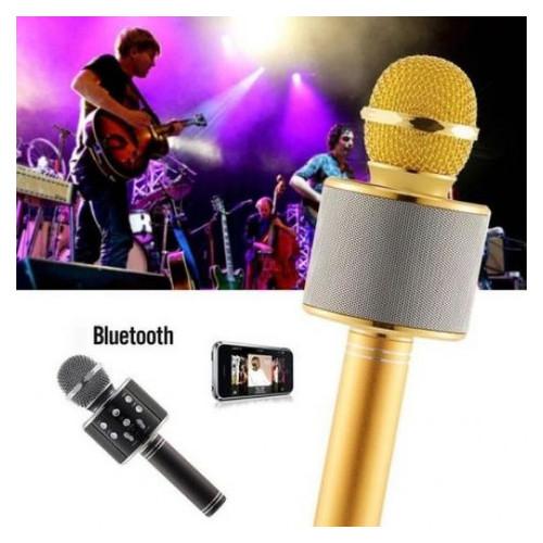 Беспроводной микрофон караоке Wster WS-858 Black