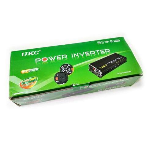 Профессиональный преобразователь инвертор UKC 12V-220V RCP-2000W (IB32006930)