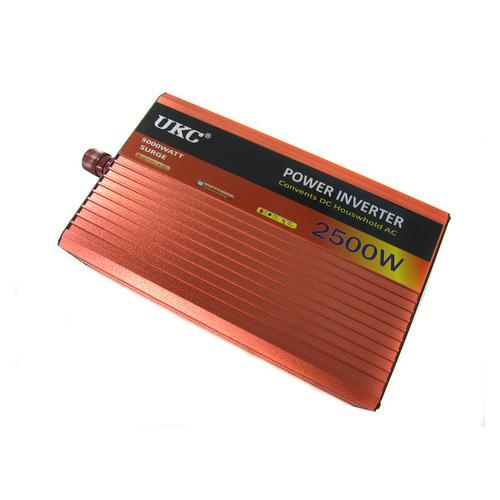 Автоинвертор Ukc 12V-220V AR 2500W c функцией плавного пуска (77700466)