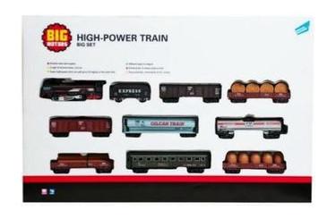 Набор игровой Big Motors Железная дорога с 9 вагонами