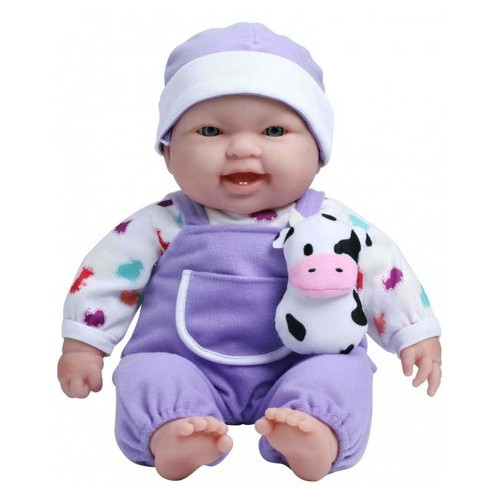 Пупс JC Toys с коровкой мягкий 38 см (JC35065-2)