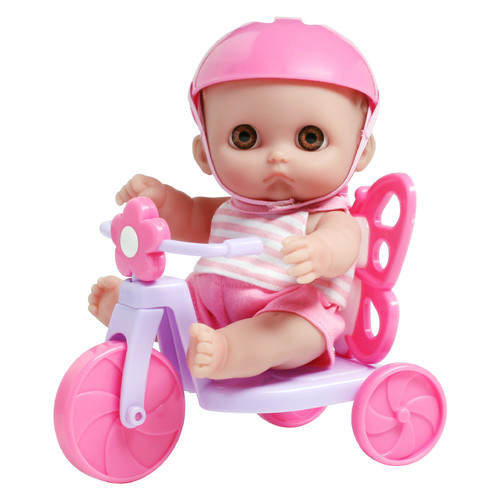 Пупc JC Toys Мини на велосипеде 22 см (JC16978)
