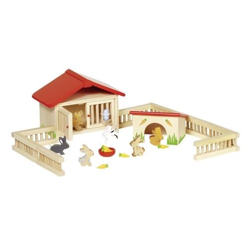 Набор для кукол Goki Загон для кроликов (51736G)