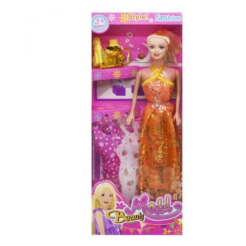 Кукла Beauty Model оранжевый (5533A-4)