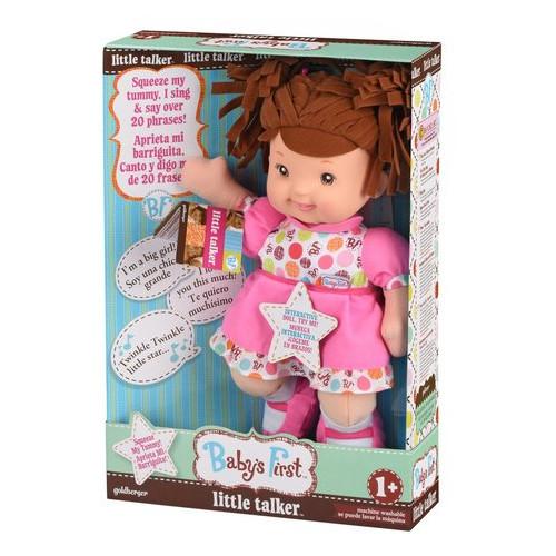 Кукла Babys First Little Talker Брюнетка (71230-2)
