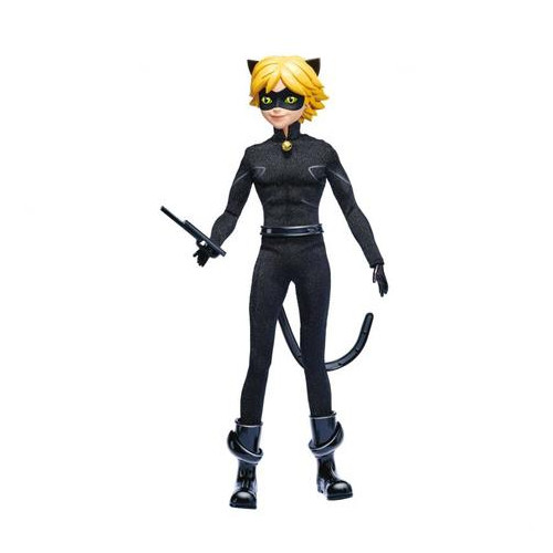 Кукла-мальчик Bandai Miraculous Леди Баг и Супер-Кот серии Делюкс (39746)
