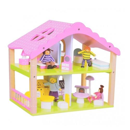 Деревянный кукольный домик Na-Na IM410