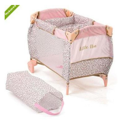 Кровать для куклы Hauck By Little Diva D-90186