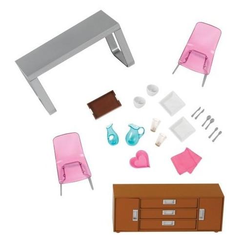Набор для кукол Lori Мебель для столовой (LO37030Z)