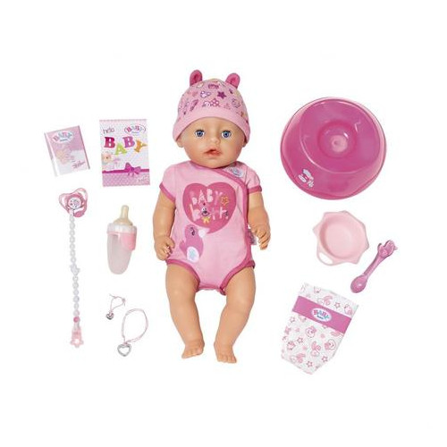 Кукла Baby Born Нежные объятия Очаровательная малышка (824368)