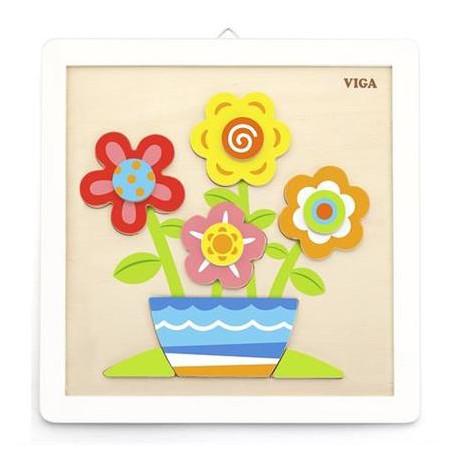 Набор для творчества  Viga Toys Своими руками. Цветы (50685)