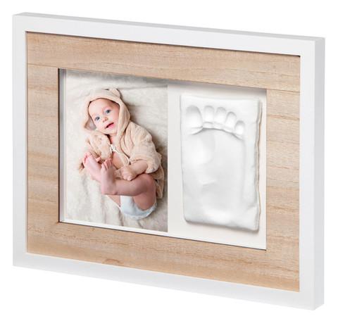 Набор для создания отпечатка ручки и ножки малыша Baby Art Настенная рамка Натуральная (3601095900)