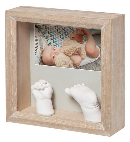 Набор для создания отпечатка ручки и ножки малыша Baby Art Фото скульптор Натуральный (3601096300)