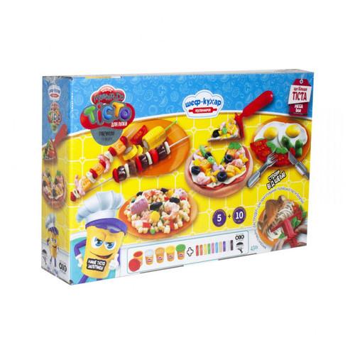 Набор креативного творчества Danko Toys Тесто для лепки Master Do Шеф-повар Пицца большая укр (TMD-09-01U)