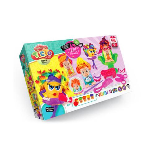 Набор креативного творчества Danko Toys Тесто для лепки Master Do Стилист-парикмахер укр (TMD-13-01U)
